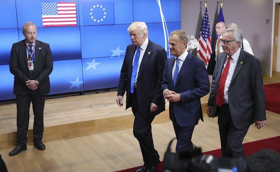 Donald Trump, Donal Trusk, Jean-Claude Juncker, Alemania, Bruselas, G7