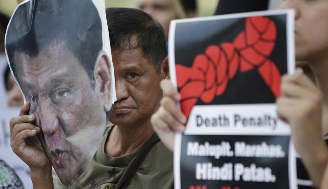 Organizaciones de derechos humanos critican al presidente de Filipinas (AP)