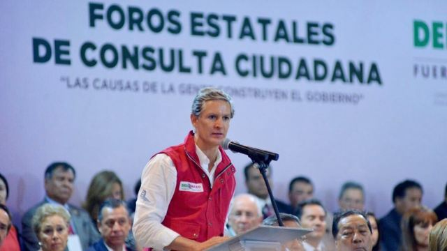 Candidato del PRI asistió a los Foros Estatales de Consulta Ciudadana