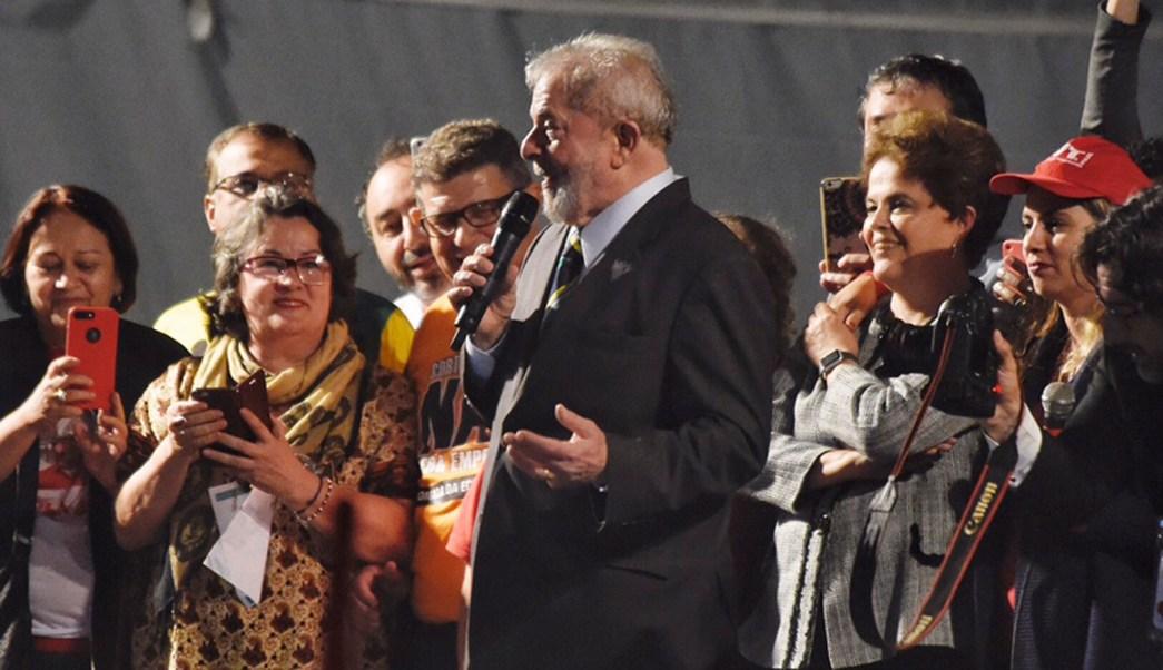 Luiz Inacio Lula da Silva realiza mitin con miras a 2018