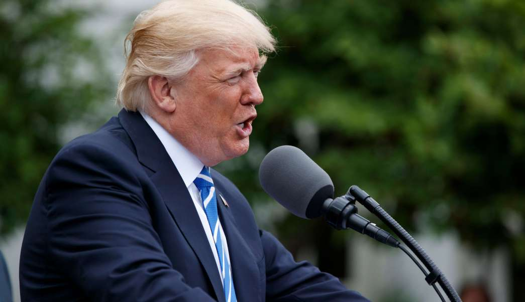 Donald Trump, calumnia, difamación, Casa Blanca, reporteros, noticias, Estados Unidos,