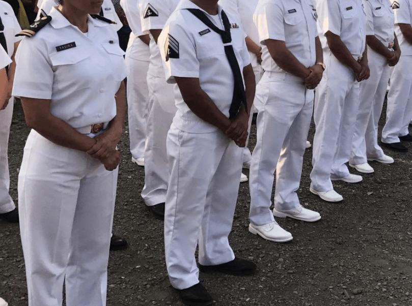 Elementos de la Secretaría de Marina