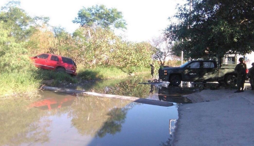 Enfrentamiento en Reynosa, Tamaulipas. (Noticieros Televisa )