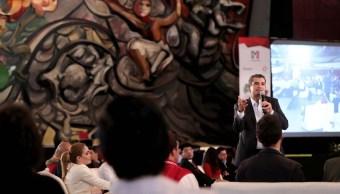 Enrique Ochoa Reza, lider del PRI