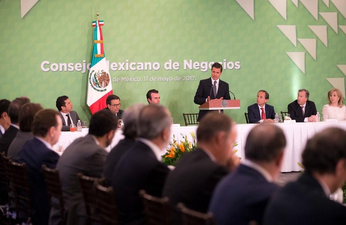 Empresarios anuncian inversión de 31 mil mdd en México