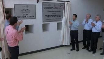 EPN inaugura el Hospital Materno Infantil y Gral. de Zona 1 del IMSS en Villa de Álvarez. Colima. (Presidencia)
