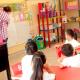 Interior de una escuela primaria en México