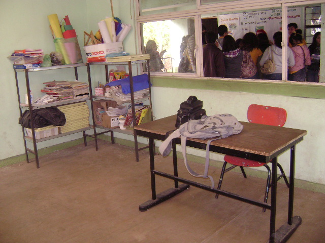 Escuela primaria Benito Juárez en Etchojoa, Sonora