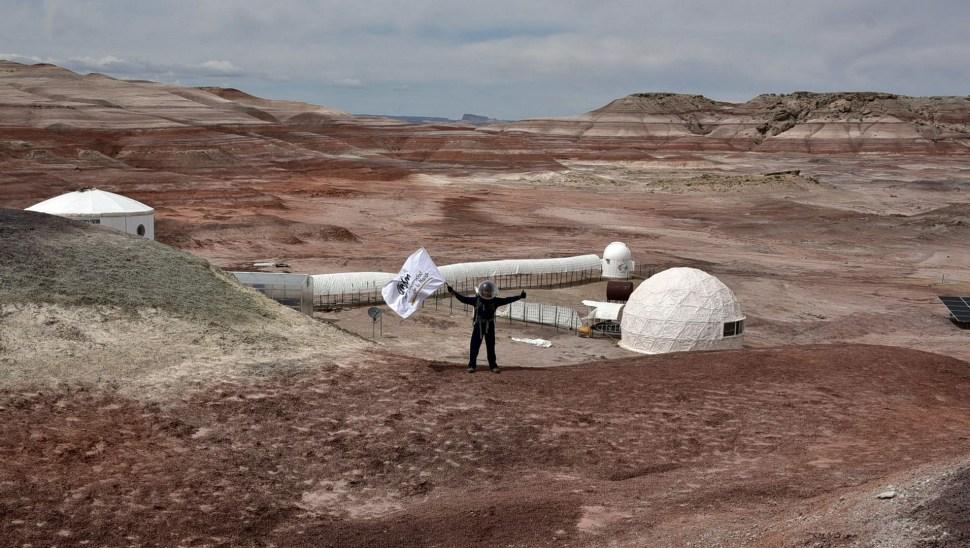 Estudiante de la UNAM exito en simulacro a Marte