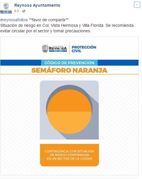 Facebook/AyuntamientoReynosa