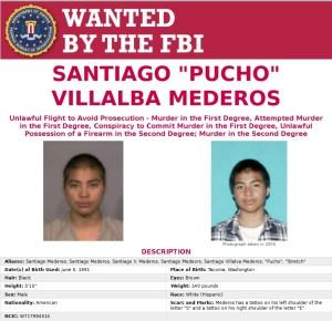 Santiago Villalba Mederos es buscado por el FBI. (www.fbi.gov)