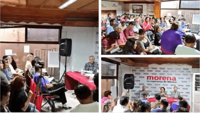 Fotos publicadas por la embajada de Venezuela en México
