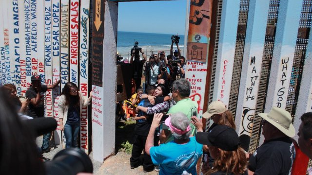 Muro, frontera, Tijuana, México, estados unidos, migrantes