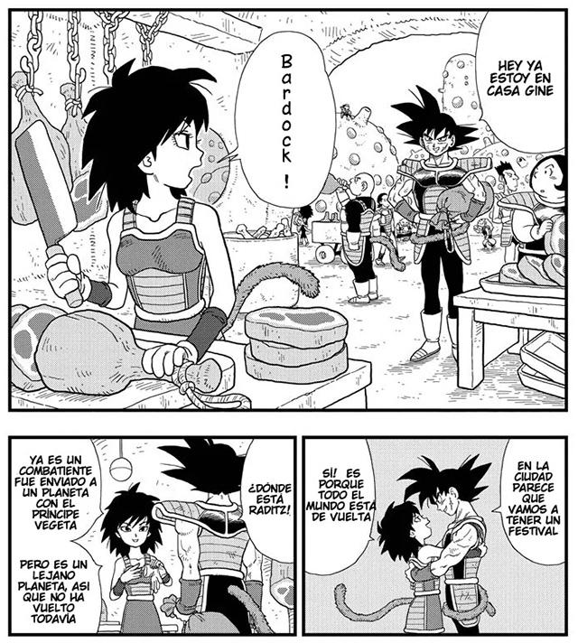 Gine, la madre de Goku.