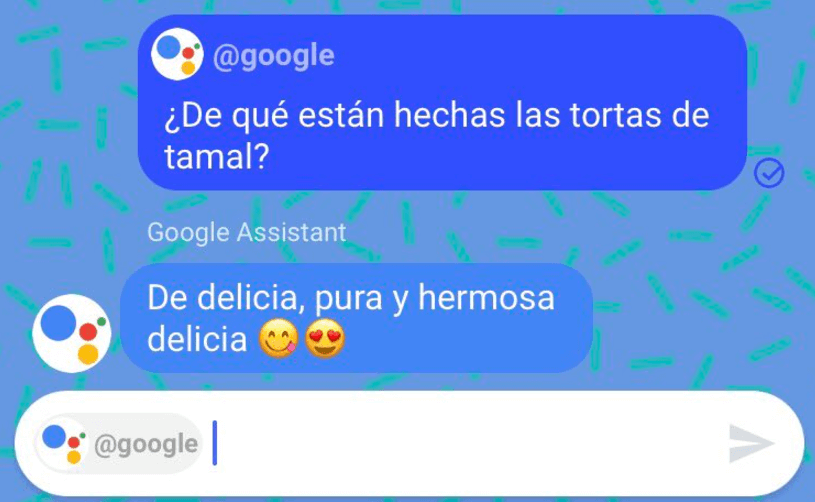 Asistente de google en español, celular, tecnología, México,