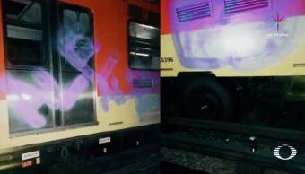 Metro, graffiti, grafiteros, pintas, mexicanos, extranjeros