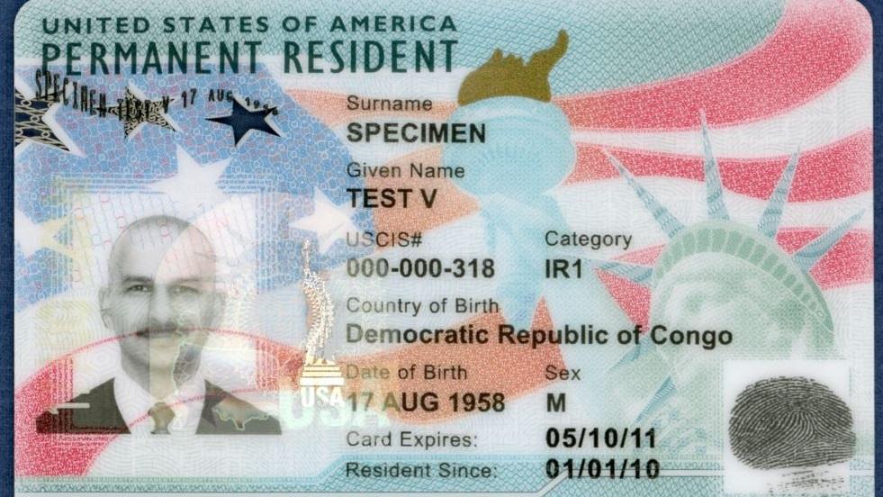 Las nuevas 'green card' emitidas por el gobierno de EU (Foto: USCIS)
