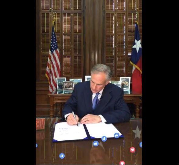 Texas, prohibe, ciudades santuario, gobernador, firma, ley