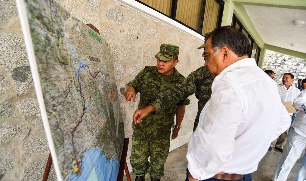 Ejército y policía estatal asumen seguridad en San Miguel Totolapan