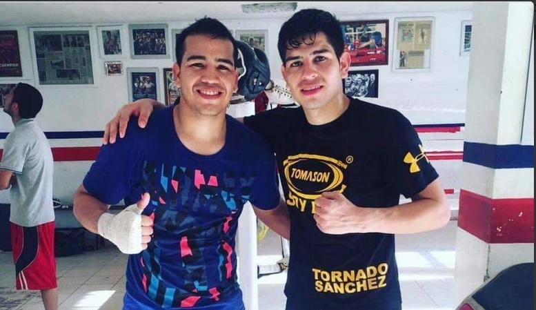 David 'Tornado' Sánchez y su hermano Jonathan. (Twitter @CODESONoficial)