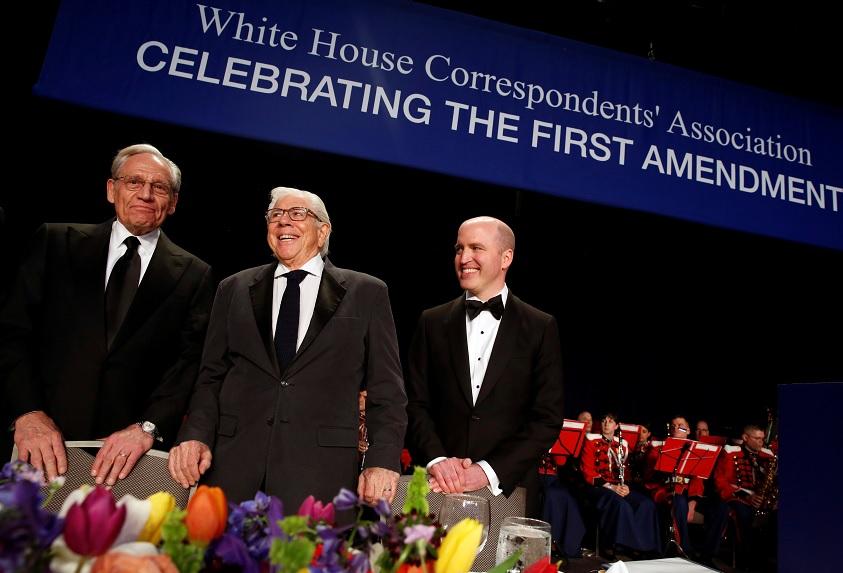 Los ex periodistas del Washington Post, Bob Woodward y Carl Bernstein (Reuters)