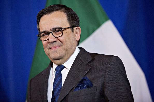 Ildefonso Guajardo Villarreal, secretario de Economía de México. (Getty Images)