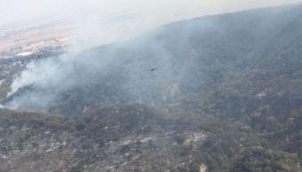 incendio forestal en jalisico