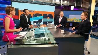 Juan Carlos Romero Hicks, Partido Acción Nacional, Despierta con Loret, Carlos Loret de Mola, Ana Francisca Vega, Enrique Campos