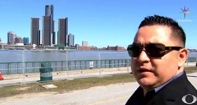 Juan Limón, migrante mexicano que trabaja en Estados Unidos y vive en Canadá (Noticieros Televisa)