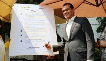 Juan Zepeda, candidato del PRD al Edomex