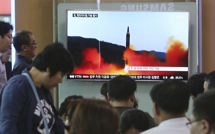 ensayo nuclear, misil, corea del norte, eu, trump, bases militares