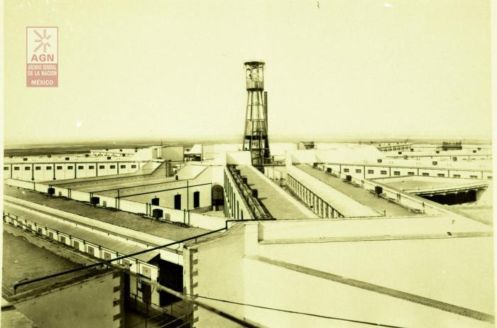 Palacio de Lecumberri, Palacio Negro, prisión, cárcel, Archivo General de la Nación