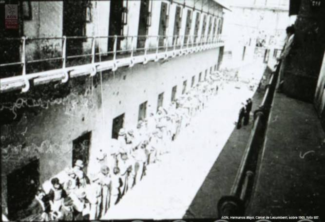 Lecumberri, presos, cárcel, reos, Palacio de Lecumberri