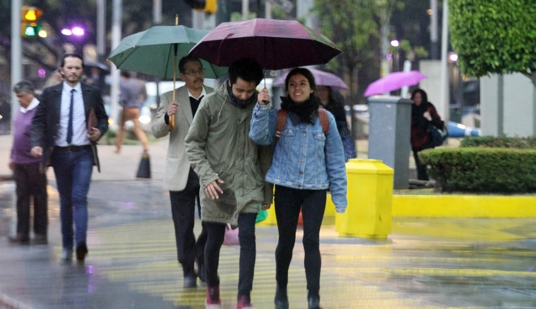 Las lluvias en la CDMX y Edomex serán generadas por diversos sistemas meteorológicos. (Notimex/Archivo)