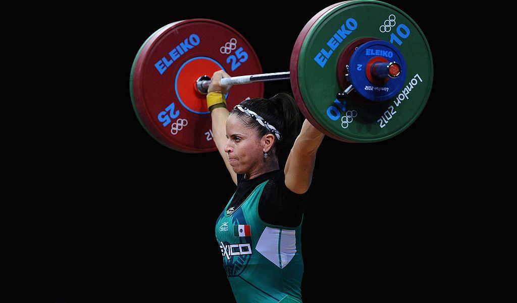Luz Acosta, Londres 2012, levantamiento pesas, medalla bronce