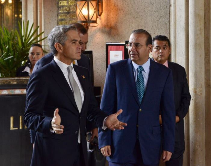 Miguel angel mancera, Navarrete prida, Aumento de salarios, Emergencia, Ciudad de mexico