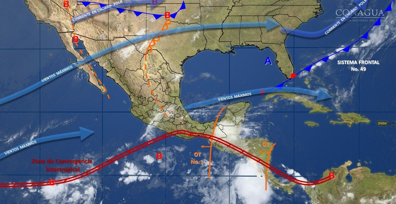 Pronostican lluvia y caída de granizo en el Valle de México