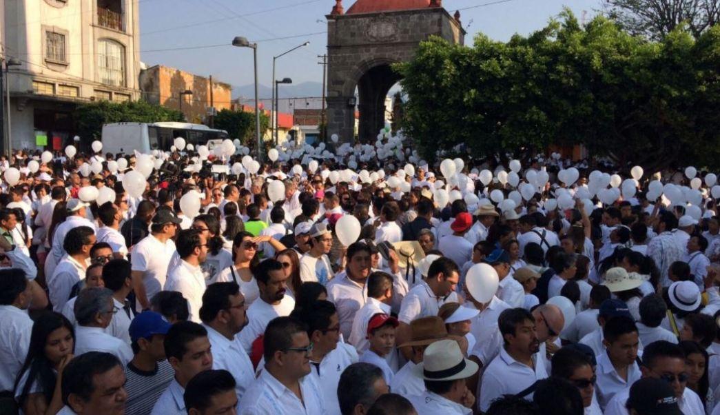 Marcha, Paz, Cuernavaca, Morelos, Diocesis, Noticias