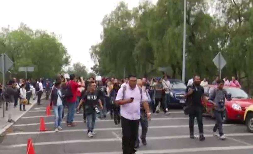 Estudiantes marcharon en la UNAM para exigir seguridad. (FOROtv)