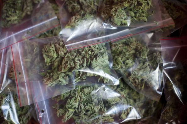 droga empaquetada en bolsitas