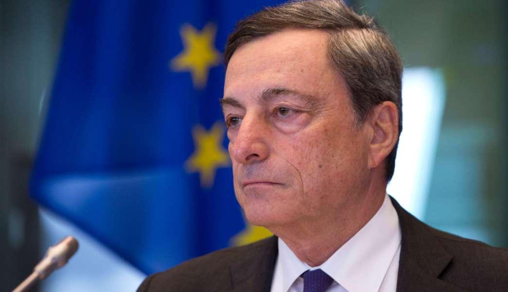 Mario Draghi, gobernador del Banco Central Europeo (AP)