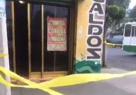Marisqueria, Xochimilco, CDMX, Balacera, Policia, Muerto