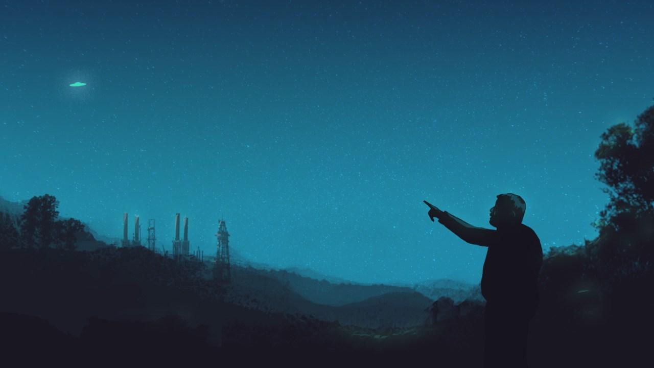 Ilustración de Jaime Maussan, Investigador de Ovnis y extraterrestres