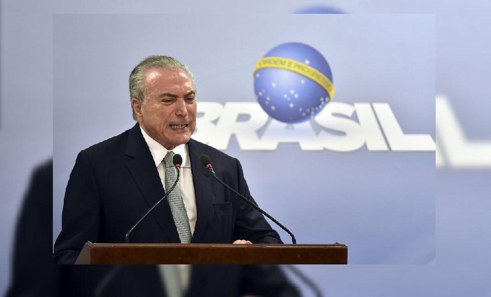 Michel temer, presidente de Brasil, corrupción, soborno, JBS