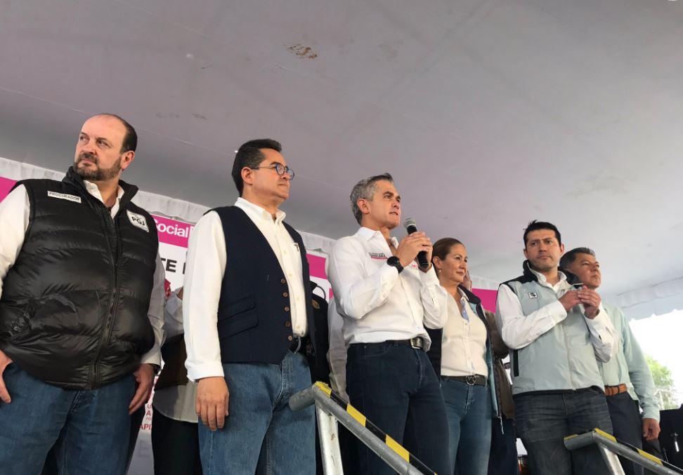 Juan Zepeda ofrece construir nueva línea del Metro en Ecatepec