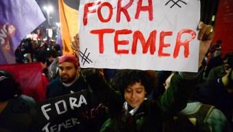 Corrupción, Temer, Brasil, Corte, protestas, presidente,