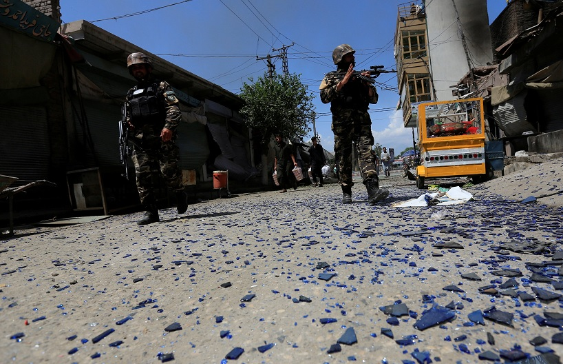 Fuerzas de seguridad afganas (Reuters)