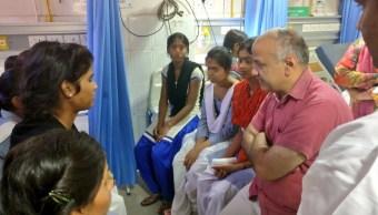 India, gas, intoxicación, salud, escuela, niños