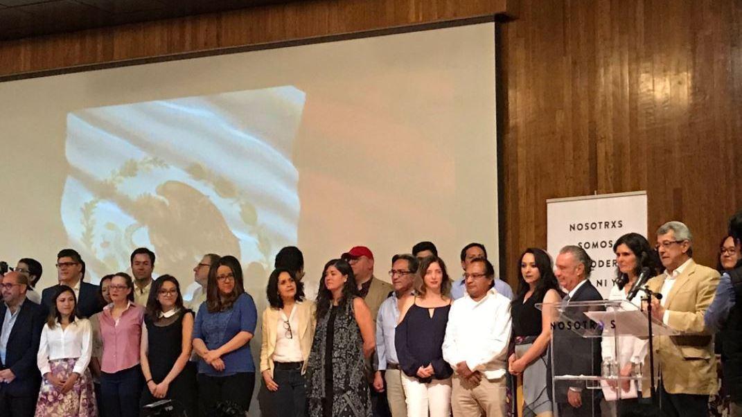 """Presentan movimiento ciudadano """"Nosotrxs"""""""