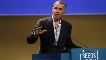 Barack Obama participa en foro alimentario en Italia